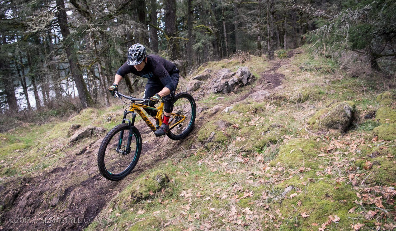 Lacamas Lake mountain bike trails