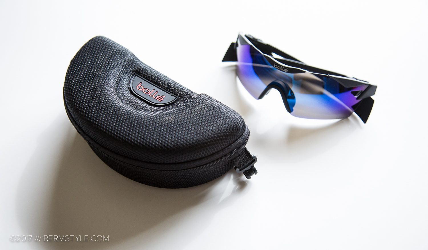 The Bolle 6th Sense glasses included a nice hardcase, bag and cleaning cloth.