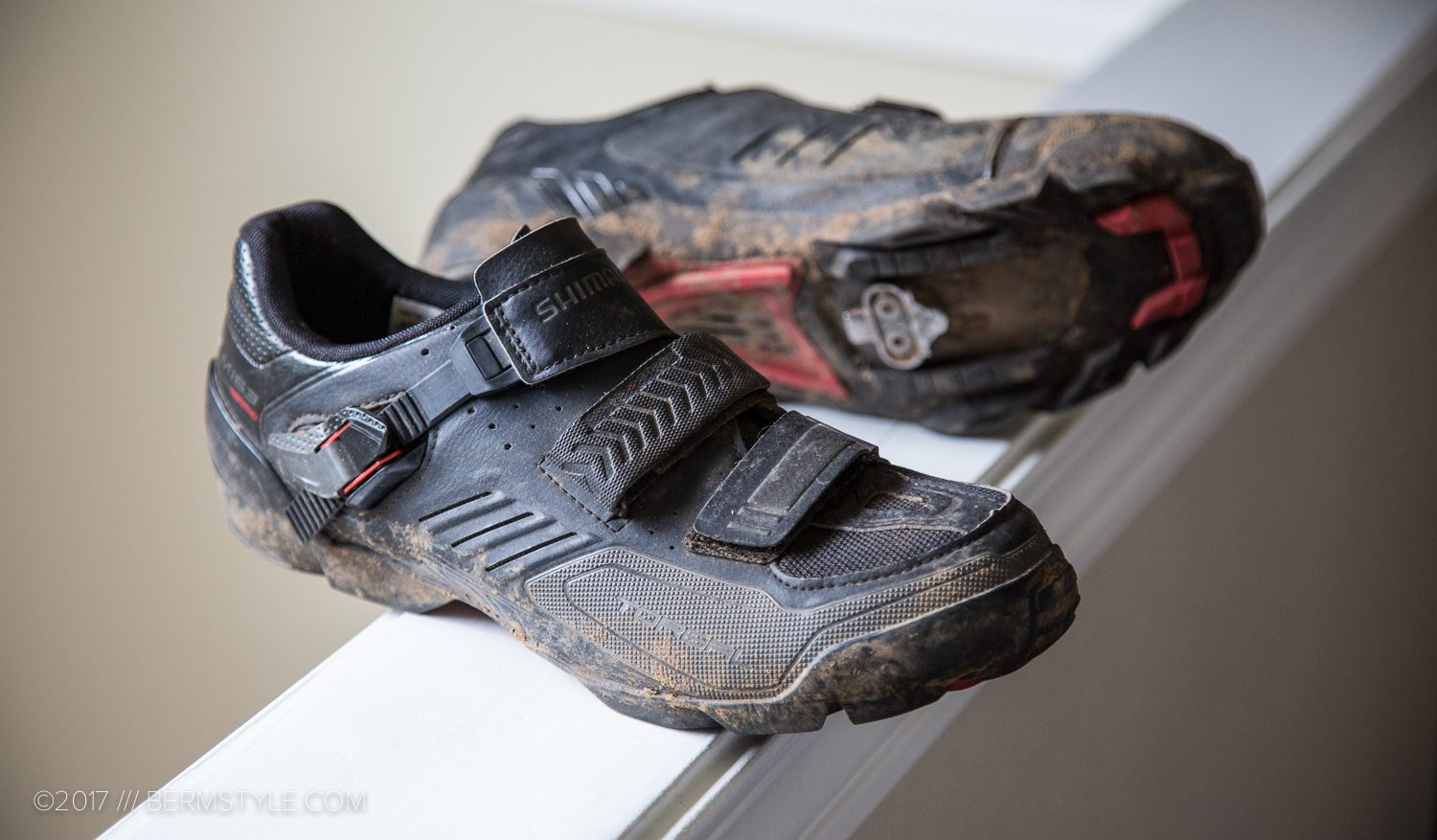 Shimano M163 mountain bike shoes