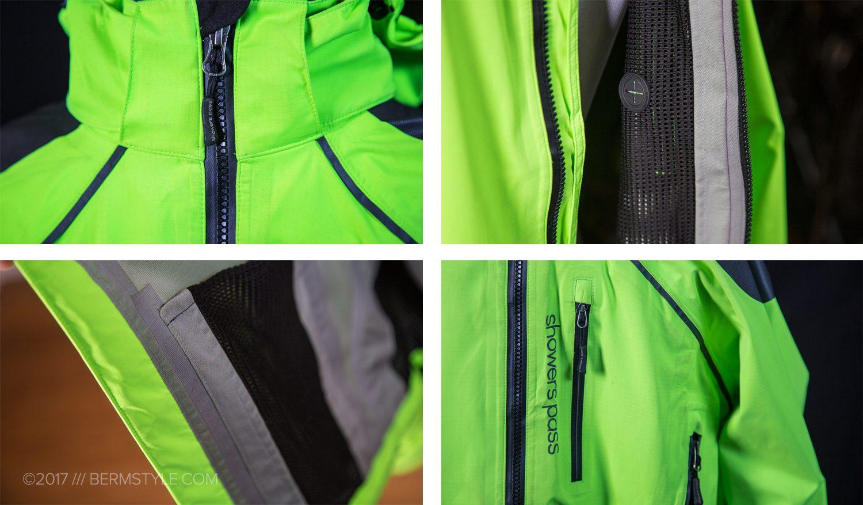 showers pass refuge jacket details