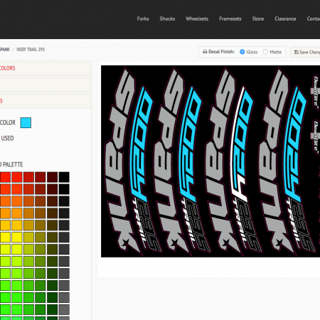 image for Get Custom: You can now customize your gear to your bike