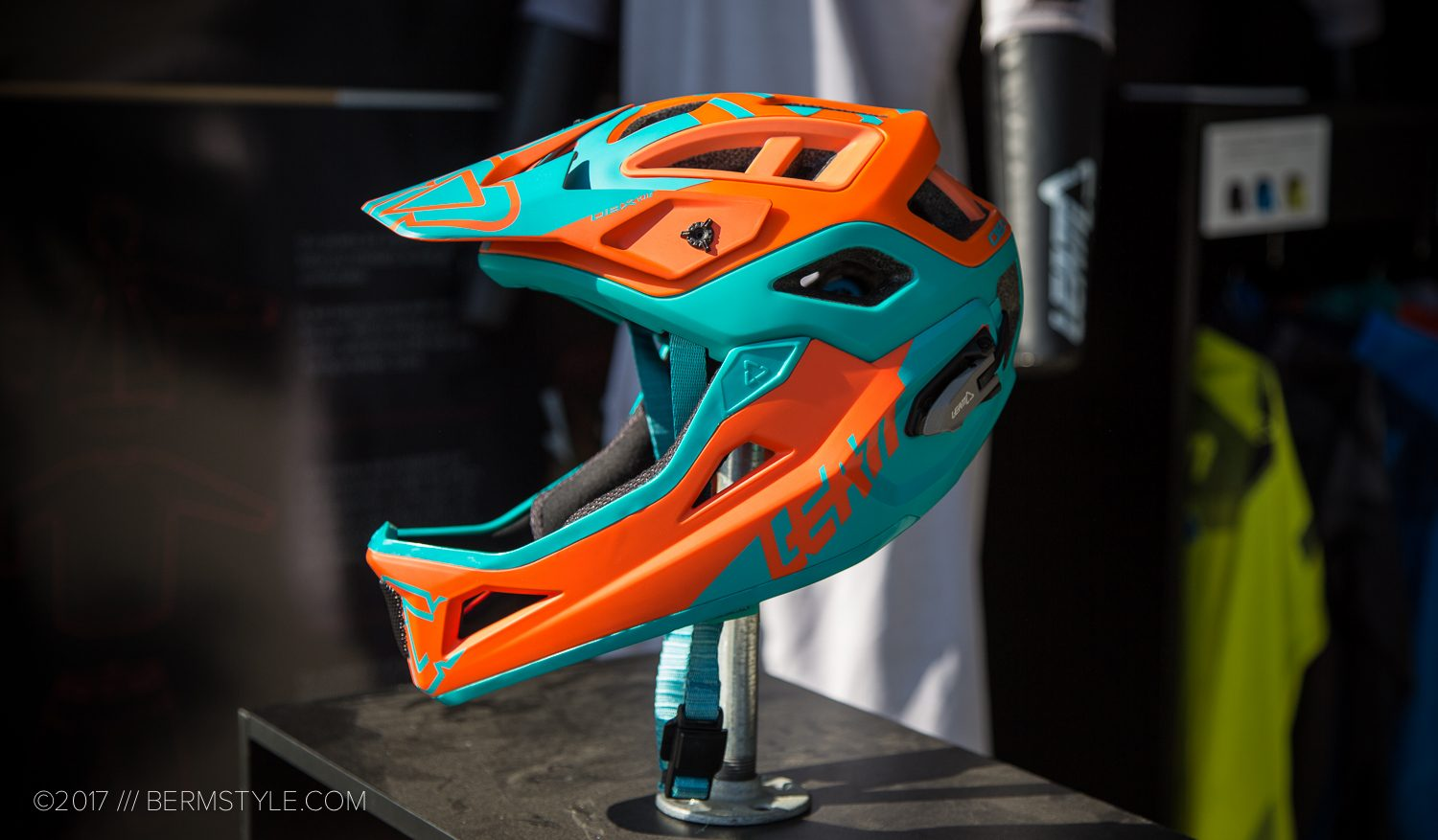 Leatt enduro helmet, the DBX 3.0 Enduro V2.