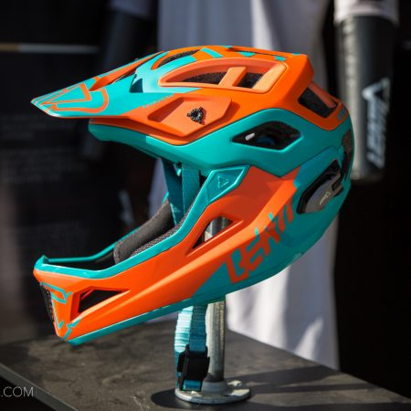 image for Leatt DBX 3.0 Enduro v2 Helmet with Removable Chin Bar