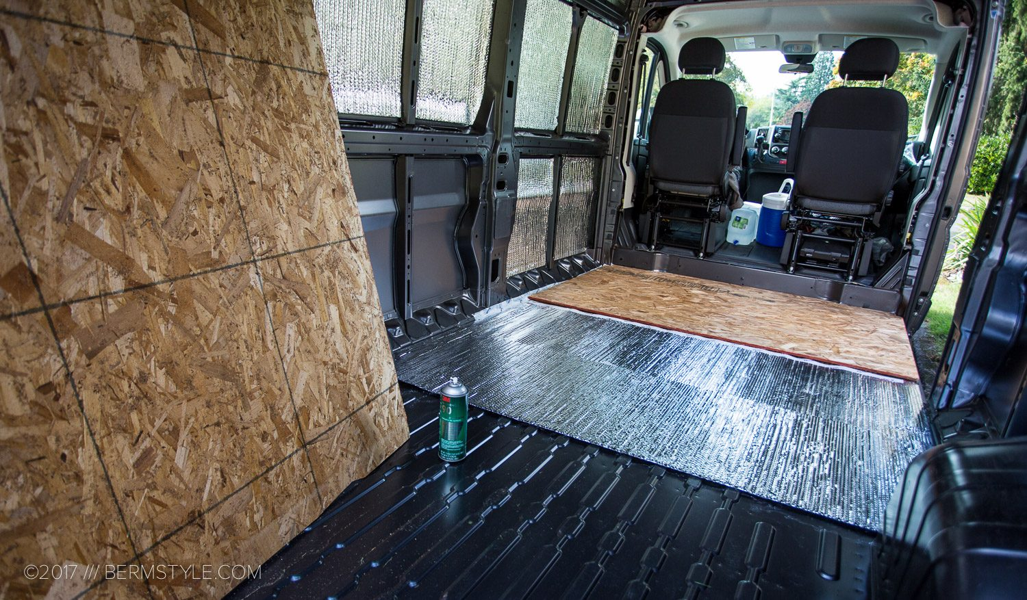 Van Life Part 2 Diy Dodge Promaster Campervan Conversion