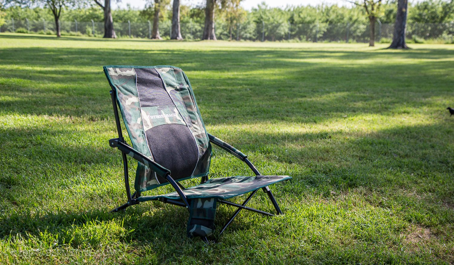 strongback camp chair