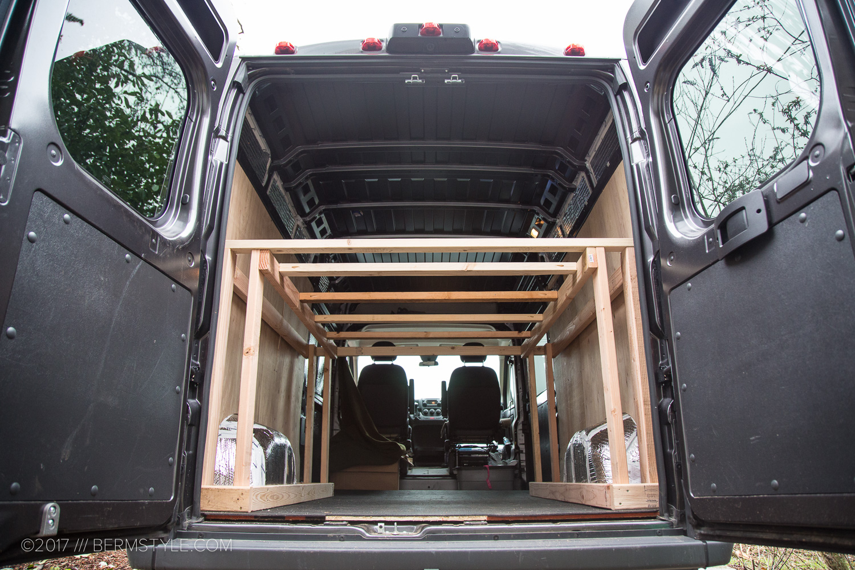Van Life Part 2: DIY Dodge Promaster Campervan Conversion