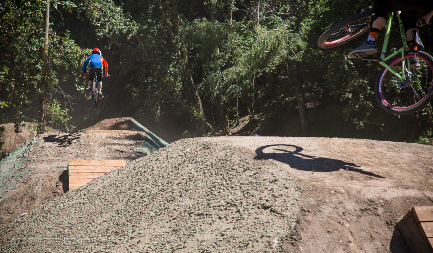 Portland s first bikepark opens the gathering at gateway for Portland maine bike trails