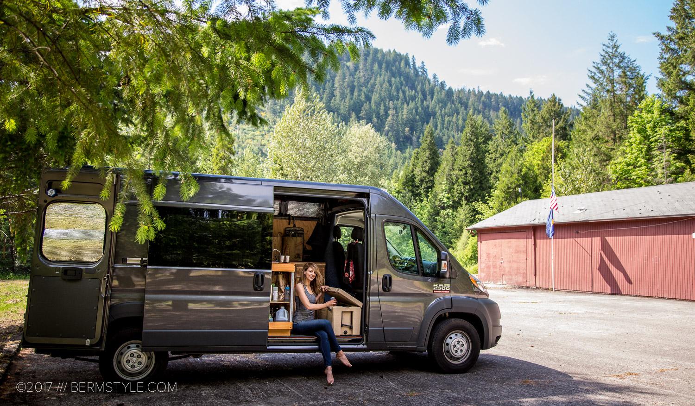 Dodge Promaster 4x4 >> Van Life Part 3: Living the #VanLife