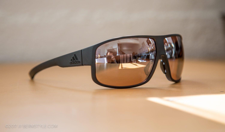 34bec8a961 The Adidas Sport Eyewear Horizor in coal matt gray