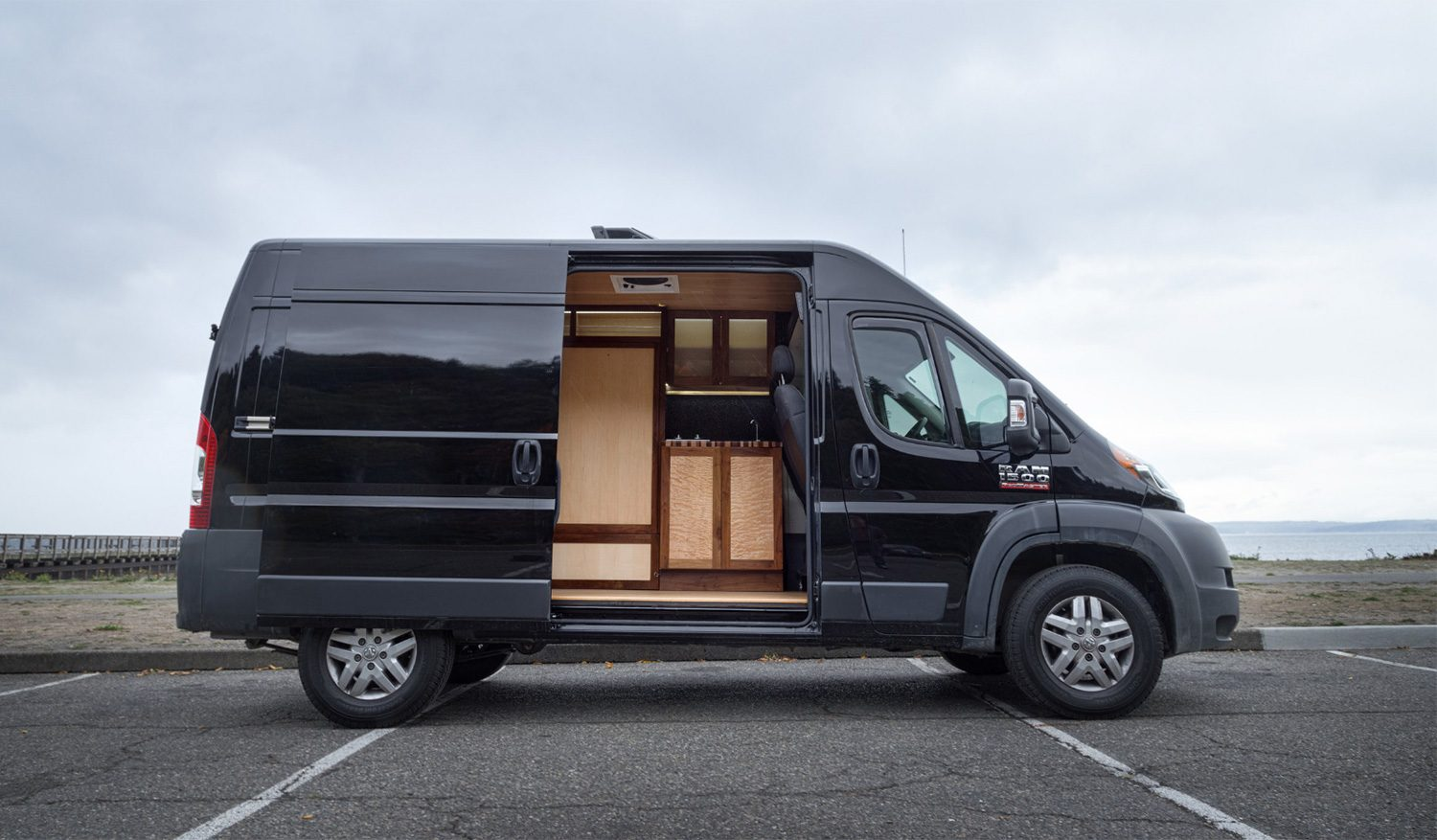 van conversion by ryan wells