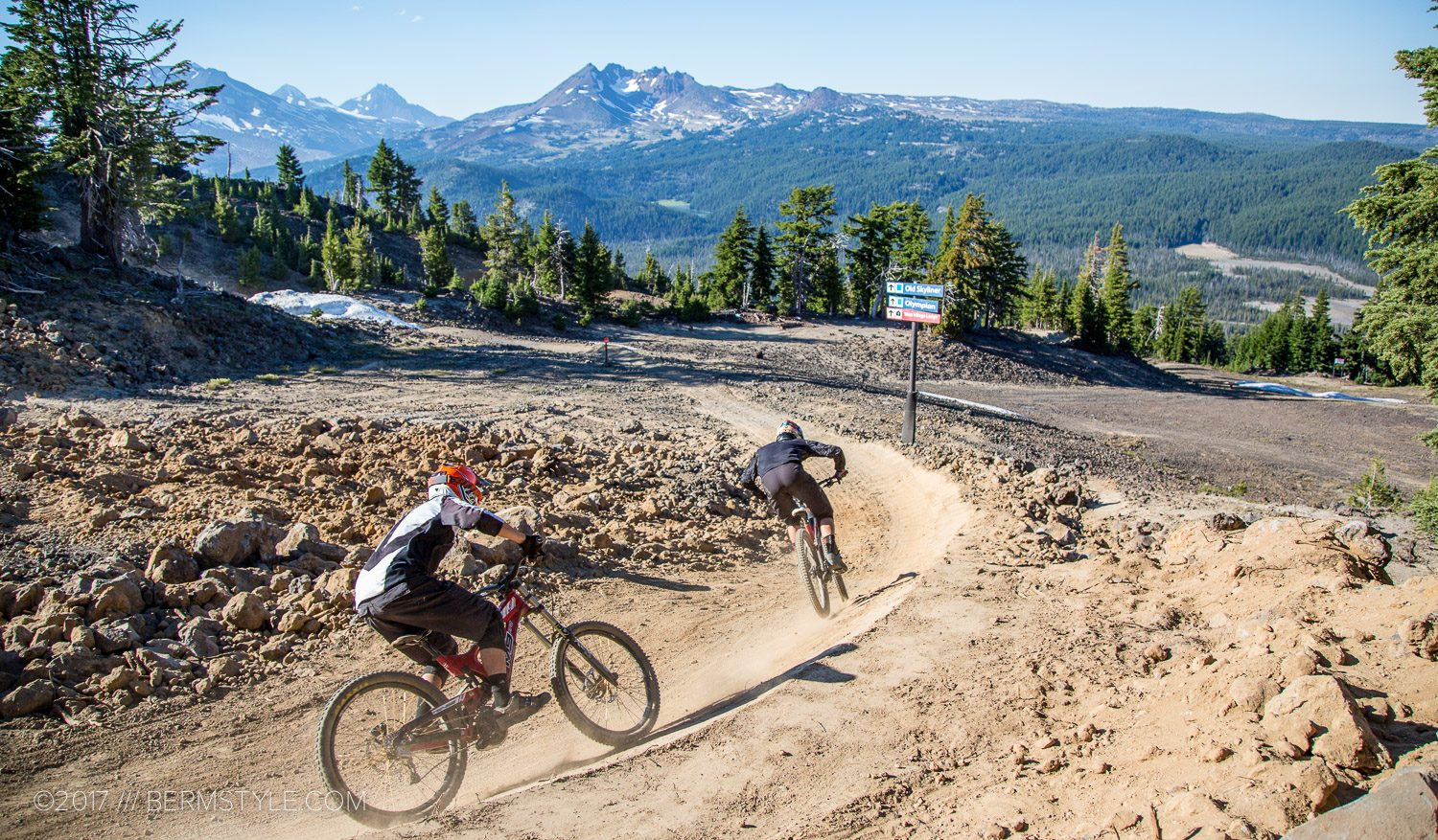 A Weekend Riding the Mt. Bachelor Bike Park