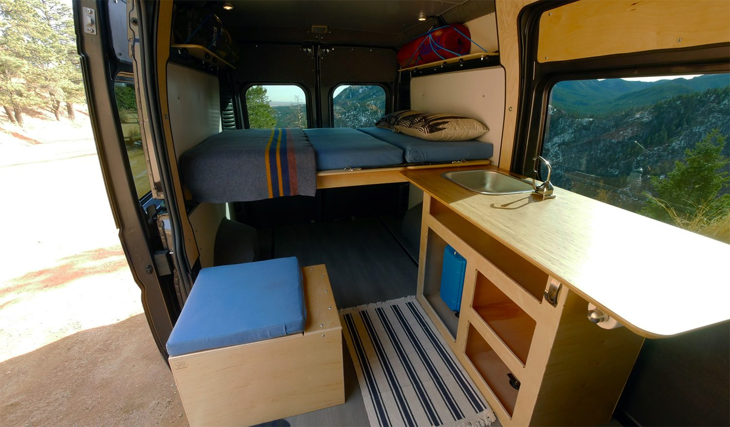 The Wayfarer Vans Promaster conversion kit