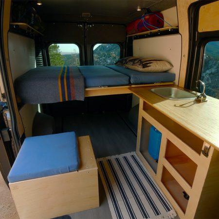image for Wayfarer Vans Plug-N-Play Camper Conversion Kits