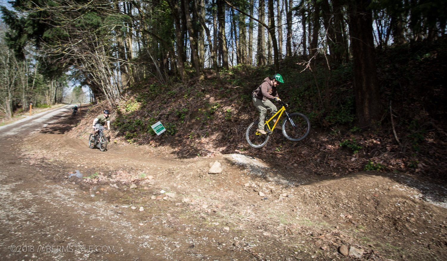 Gateway Green DirtLab Evolution: Toe Line Pump Track Trail