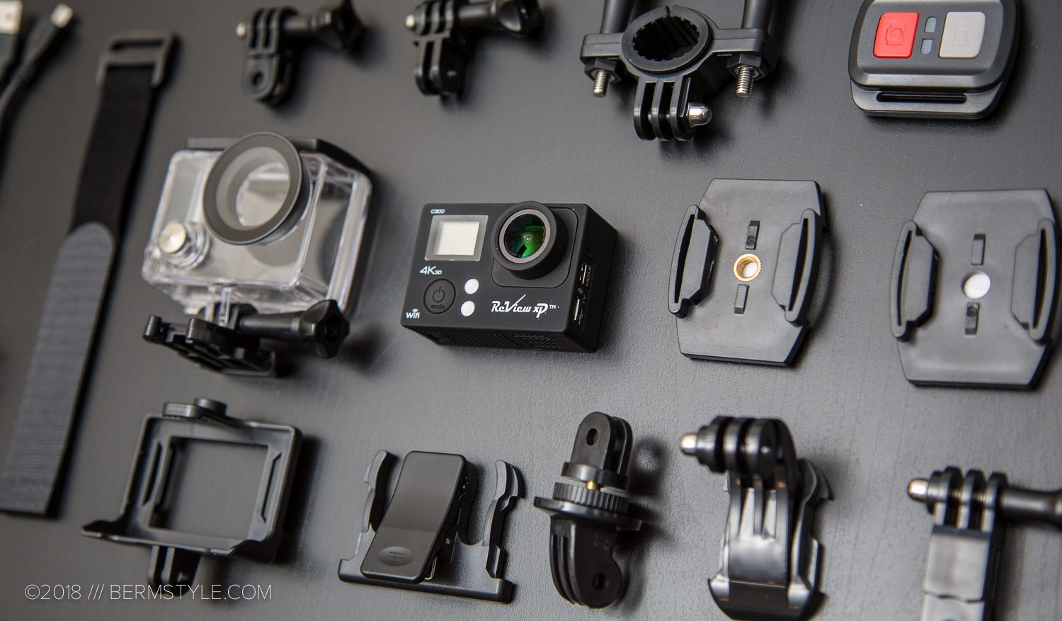 Review XP C300 4k Action Camera