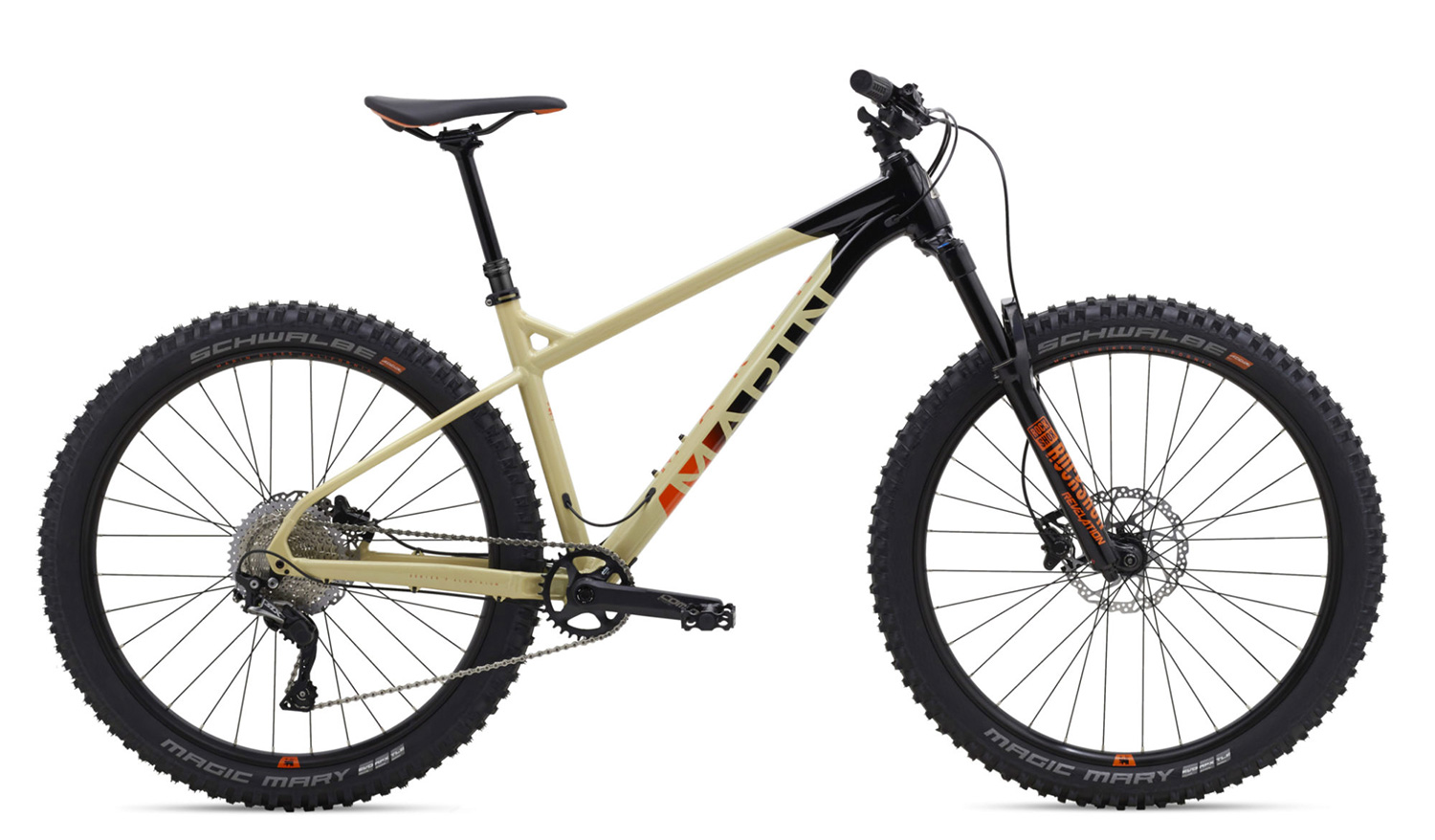 2018 Marin Bikes San Quentin hardtail mountain bike