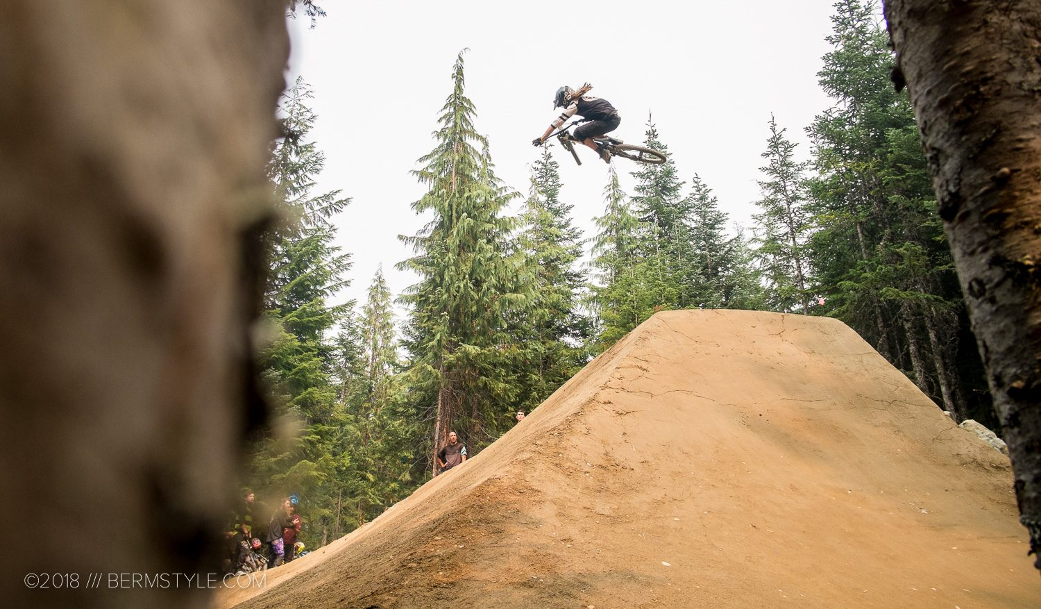 Whistler Bike Park: Riding the Dirt Merchant Rebuild