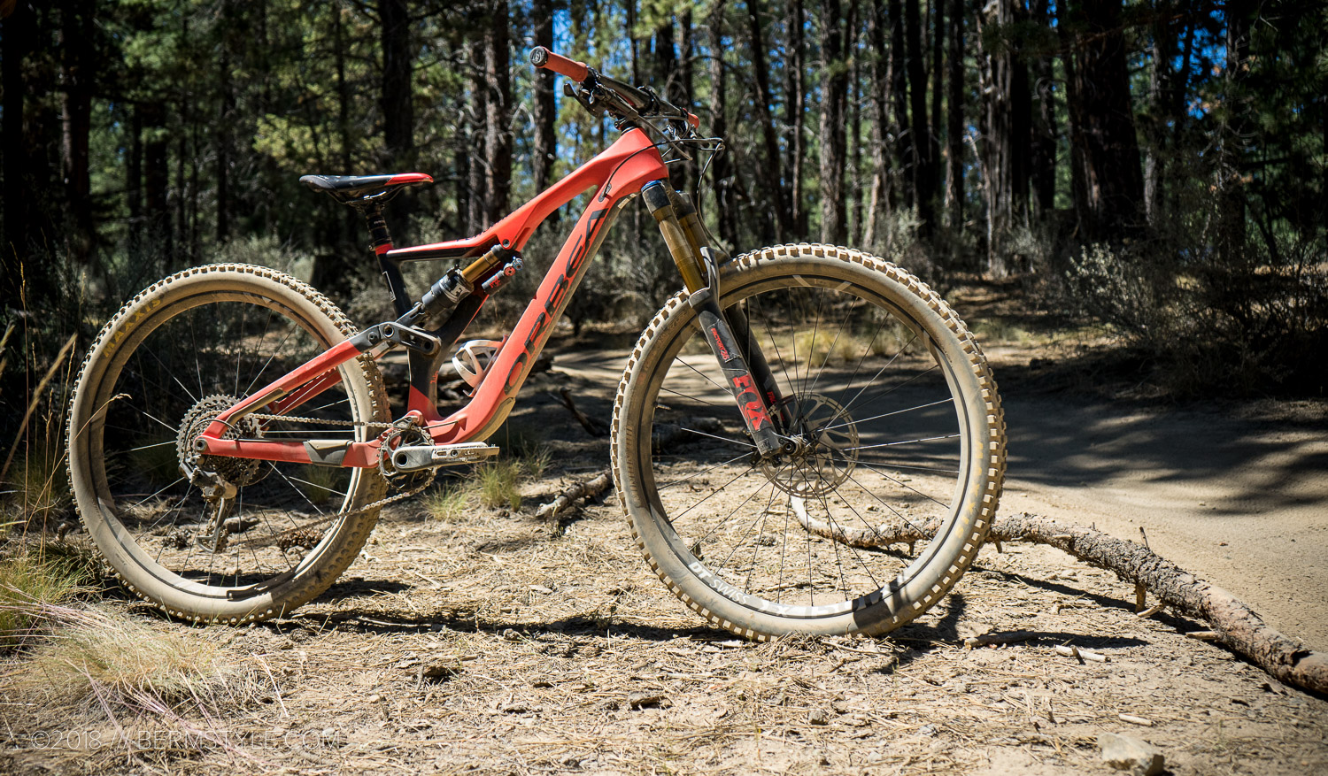2d67f2feb79 The Orbea Rallon has been on my short list of 29″ trail smashing enduro  rigs for some time. Blending downhill prowess with more than acceptable  climbing ...