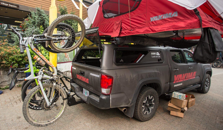 Yakima HangOver Vertical Bike Rack