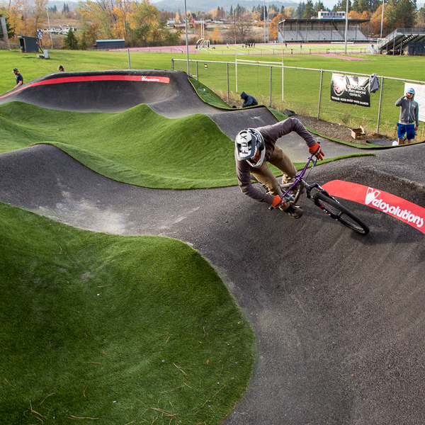 Golden Eagle Park Pump Track: First Rides feauted image
