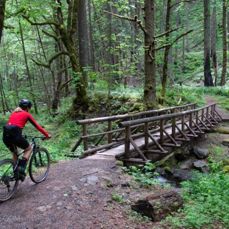image for The secret singletrack: Gorge Trail #400