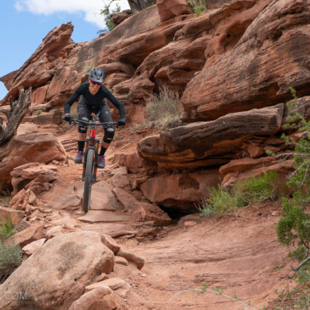 image for Riding the New Moab Single Track: Captain Ahab and the Moab Brands Trails (Video)