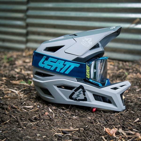 Review: Leatt DBX 4.0 Fullface Helmet and Velocity Goggles feauted image