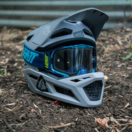 image for Review: Leatt DBX 4.0 Fullface Helmet and Velocity Goggles